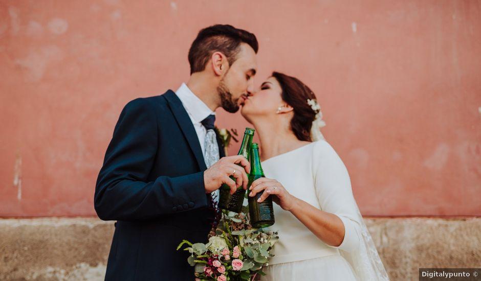 La boda de Yoel y María en El Puntal (Espinardo), Murcia