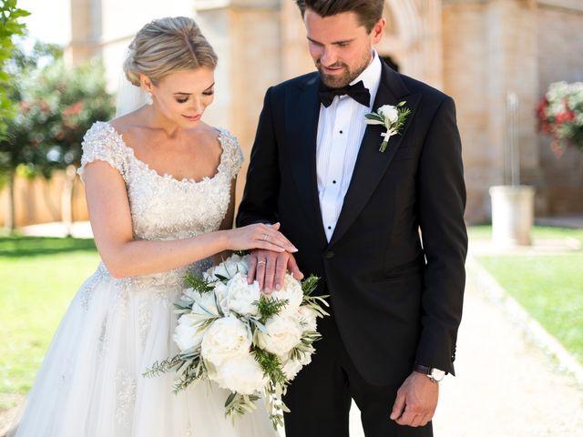 La boda de Christina y Daffgin