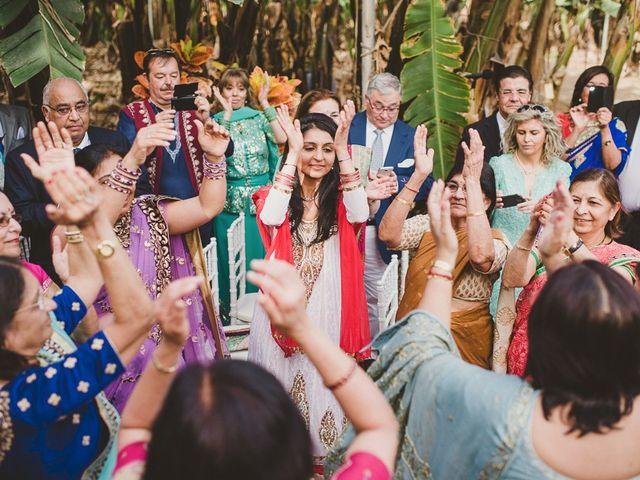 La boda de Punit y Eva en Guargacho, Santa Cruz de Tenerife 37