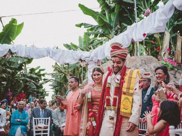 La boda de Punit y Eva en Guargacho, Santa Cruz de Tenerife 46