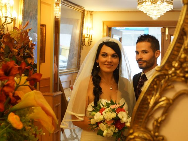 La boda de Rocío y Joni