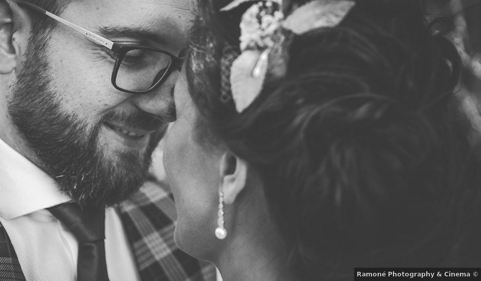 La boda de Antonio y Sara en Villena, Alicante