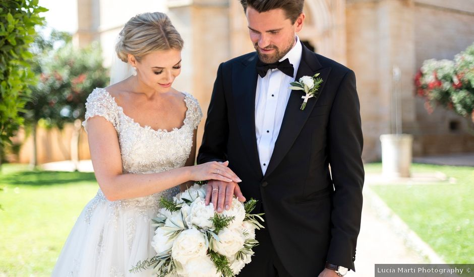 La boda de Daffgin y Christina en Lluchmajor, Islas Baleares