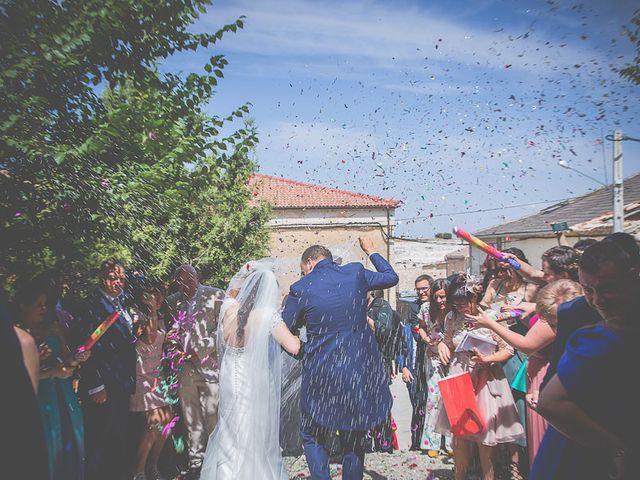 La boda de Leticia y David en Ayllon, Segovia 37
