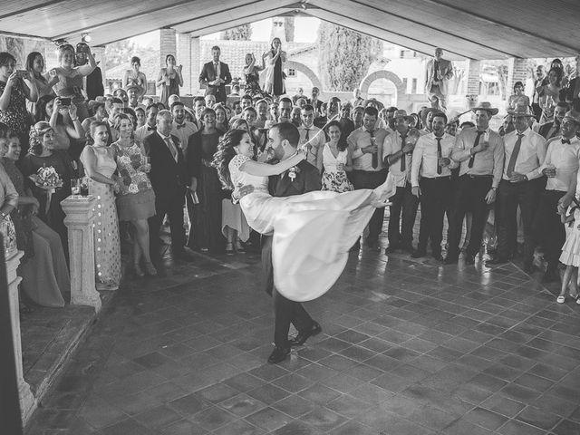 La boda de Leticia y David en Ayllon, Segovia 93