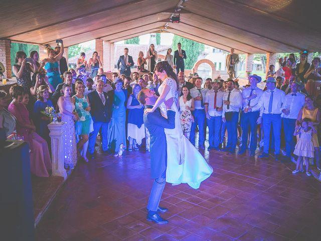 La boda de Leticia y David en Ayllon, Segovia 94