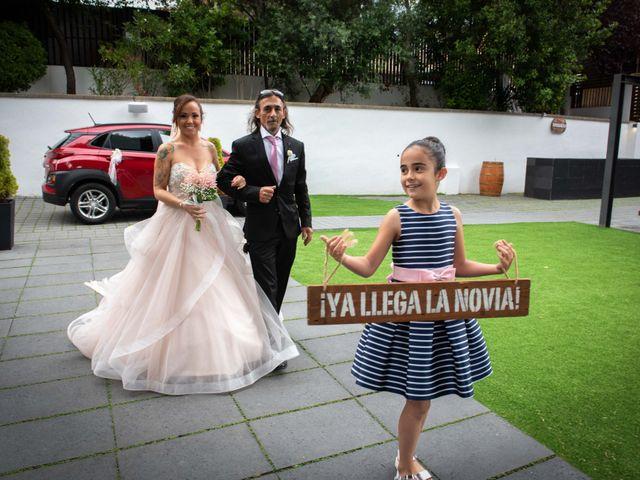 La boda de Frank y Evelyn en Sant Fost De Campsentelles, Barcelona 21