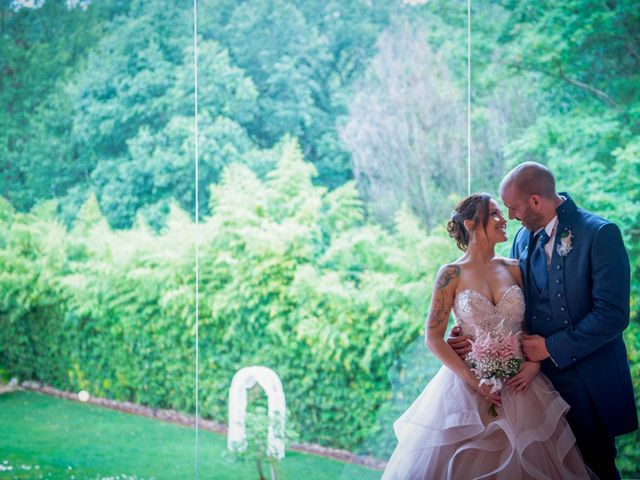 La boda de Frank y Evelyn en Sant Fost De Campsentelles, Barcelona 1