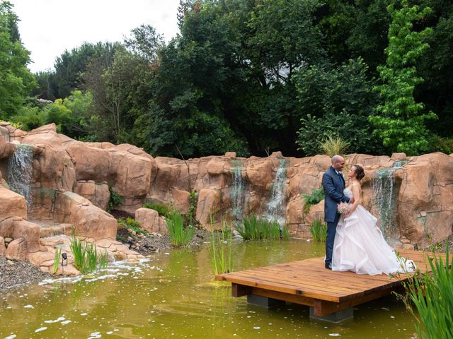 La boda de Frank y Evelyn en Sant Fost De Campsentelles, Barcelona 34