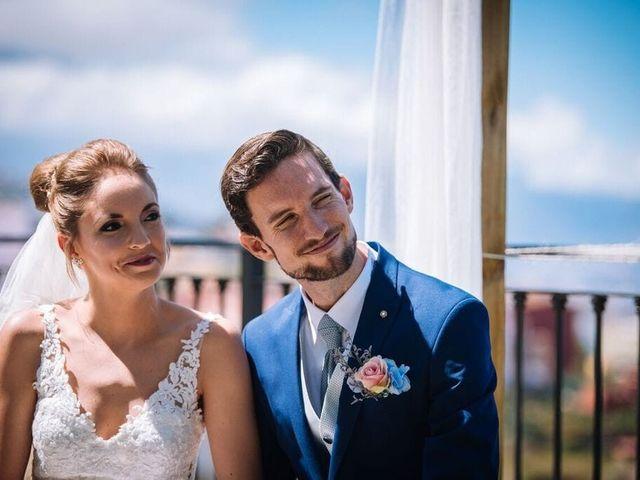 La boda de Beatriz y Daniel en La Victoria De Acentejo, Santa Cruz de Tenerife 10