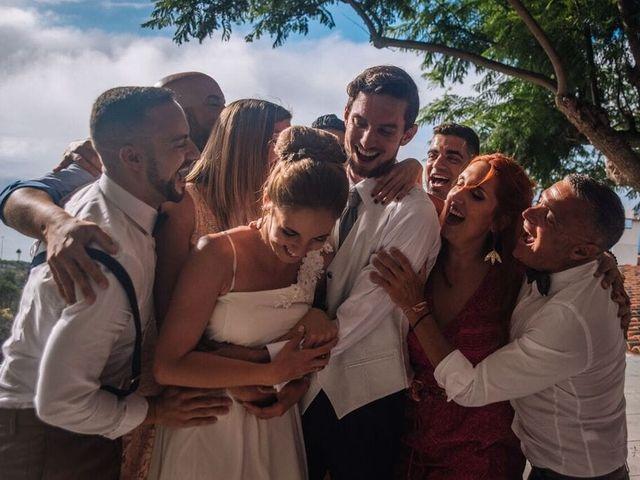 La boda de Beatriz y Daniel en La Victoria De Acentejo, Santa Cruz de Tenerife 17