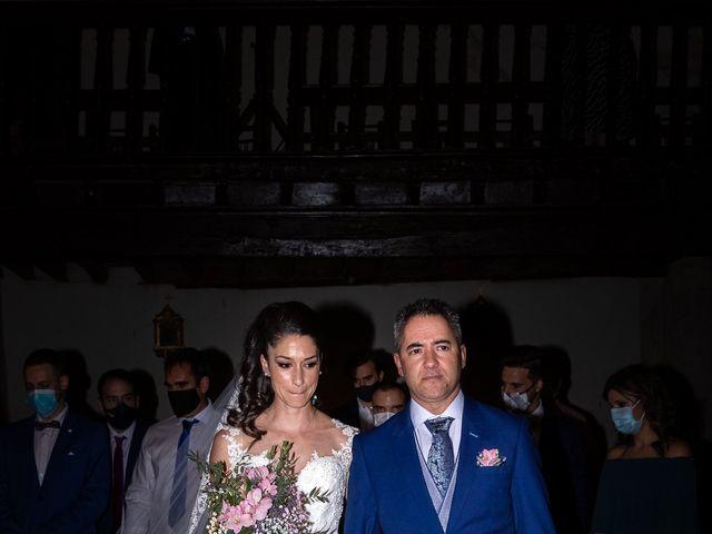 La boda de Ana y Carlos en Valdegrudas, Guadalajara 54