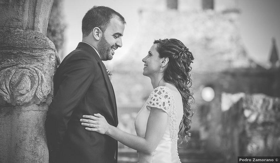 La boda de Leticia y David en Ayllon, Segovia