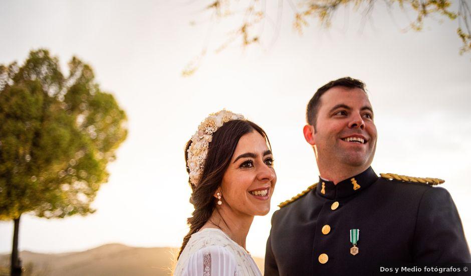 La boda de Angel y Soraya en Ballesteros De Calatrava, Ciudad Real