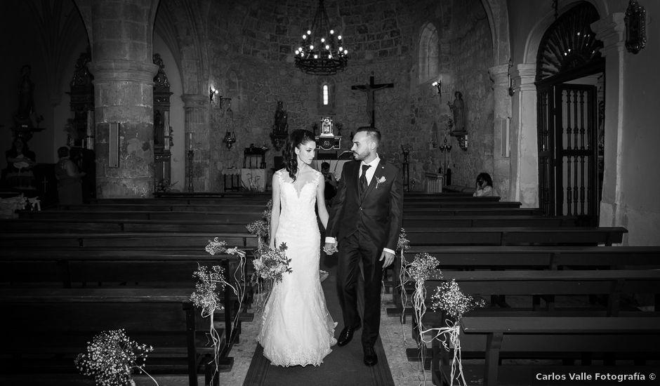 La boda de Ana y Carlos en Valdegrudas, Guadalajara