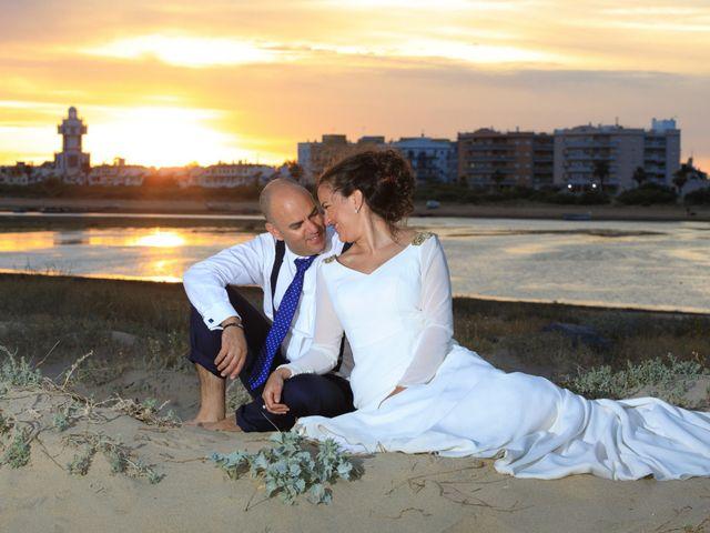 La boda de Javier y Cinta en Valverde Del Camino, Huelva 19