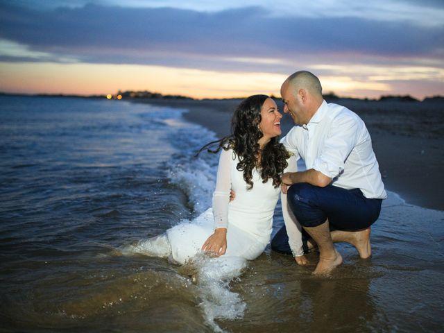 La boda de Javier y Cinta en Valverde Del Camino, Huelva 27