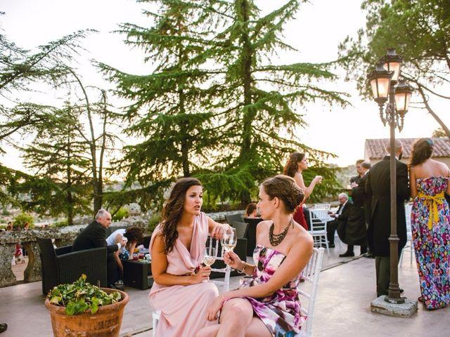 La boda de Ignacio y Celia en Torrelodones, Madrid 25
