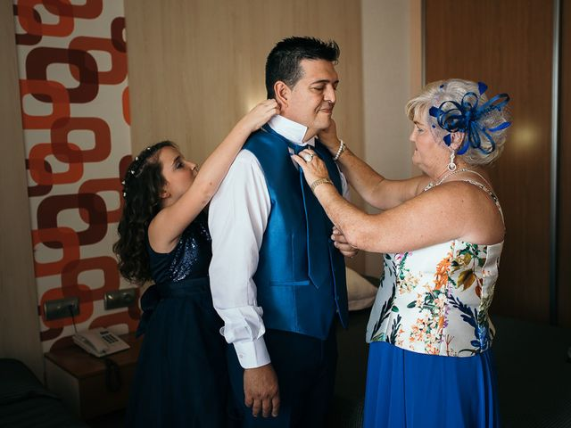La boda de Roberto y Carol en L' Ametlla De Mar, Tarragona 3
