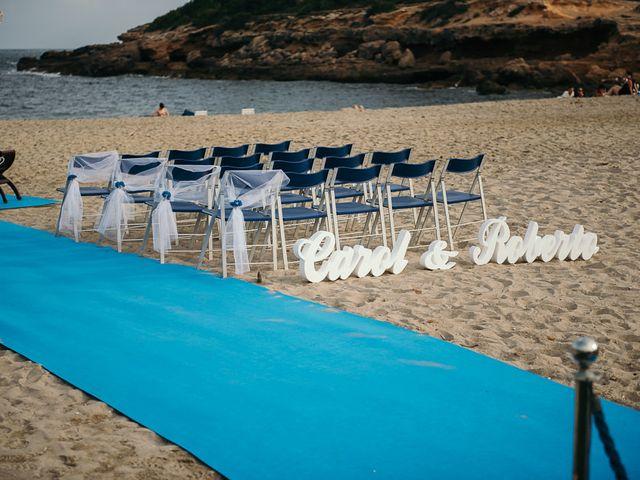 La boda de Roberto y Carol en L' Ametlla De Mar, Tarragona 38