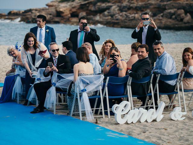 La boda de Roberto y Carol en L' Ametlla De Mar, Tarragona 43