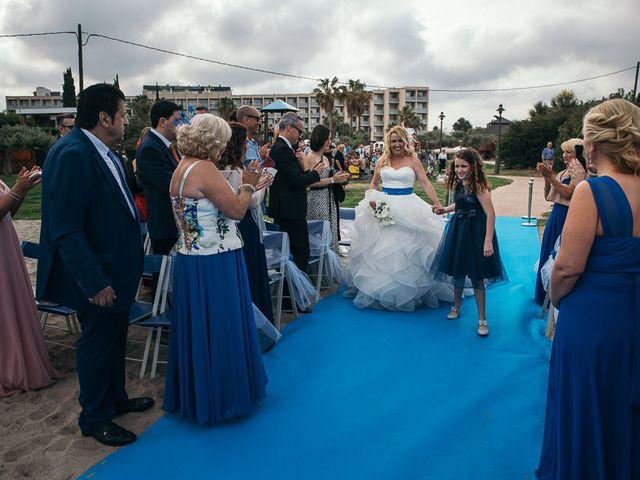 La boda de Roberto y Carol en L' Ametlla De Mar, Tarragona 50