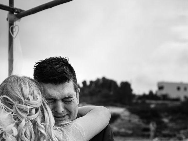 La boda de Roberto y Carol en L' Ametlla De Mar, Tarragona 52