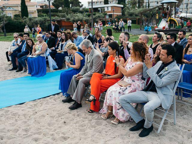 La boda de Roberto y Carol en L' Ametlla De Mar, Tarragona 53
