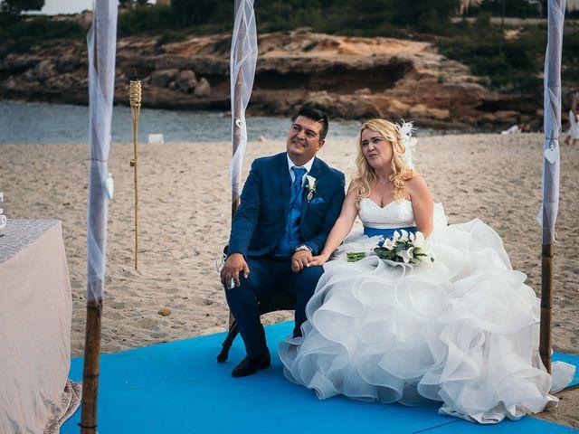 La boda de Roberto y Carol en L' Ametlla De Mar, Tarragona 55