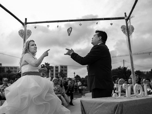 La boda de Roberto y Carol en L' Ametlla De Mar, Tarragona 58
