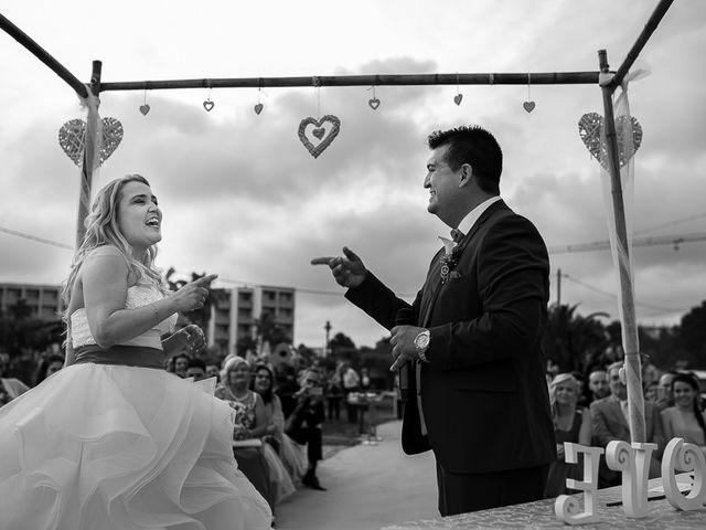 La boda de Roberto y Carol en L' Ametlla De Mar, Tarragona 59