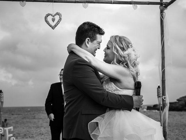 La boda de Roberto y Carol en L' Ametlla De Mar, Tarragona 60