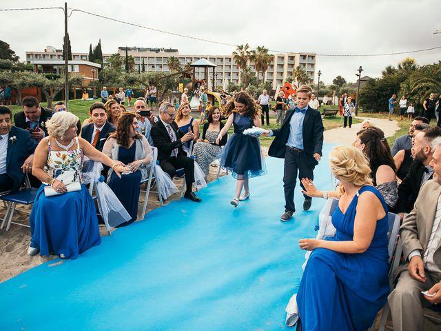 La boda de Roberto y Carol en L' Ametlla De Mar, Tarragona 61