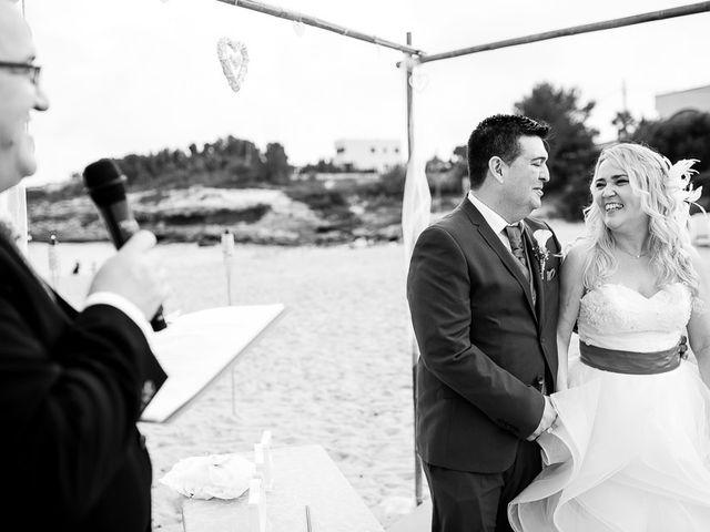 La boda de Roberto y Carol en L' Ametlla De Mar, Tarragona 63