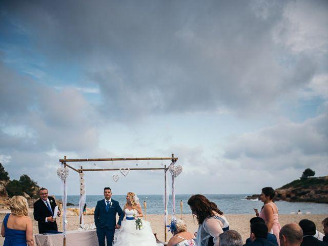 La boda de Roberto y Carol en L' Ametlla De Mar, Tarragona 65