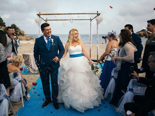 La boda de Roberto y Carol en L' Ametlla De Mar, Tarragona 67