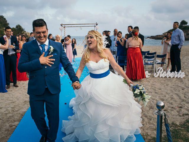 La boda de Roberto y Carol en L' Ametlla De Mar, Tarragona 69