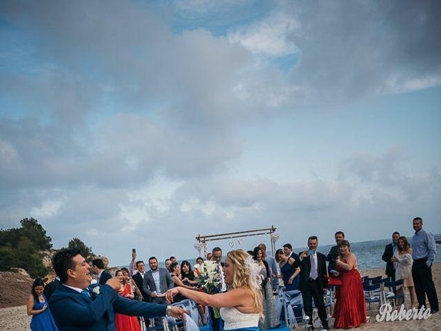 La boda de Roberto y Carol en L' Ametlla De Mar, Tarragona 70
