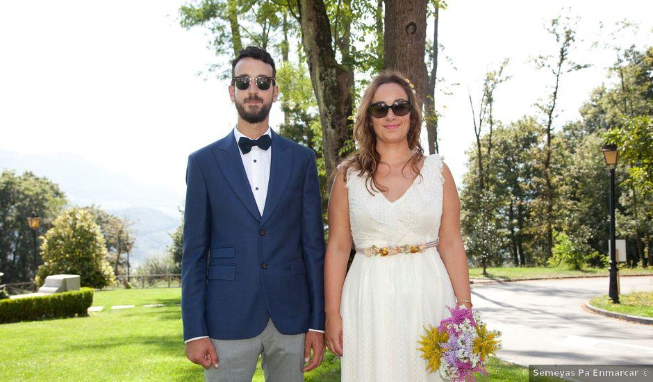 La boda de Álvaro y Paula en La Manjoya, Asturias