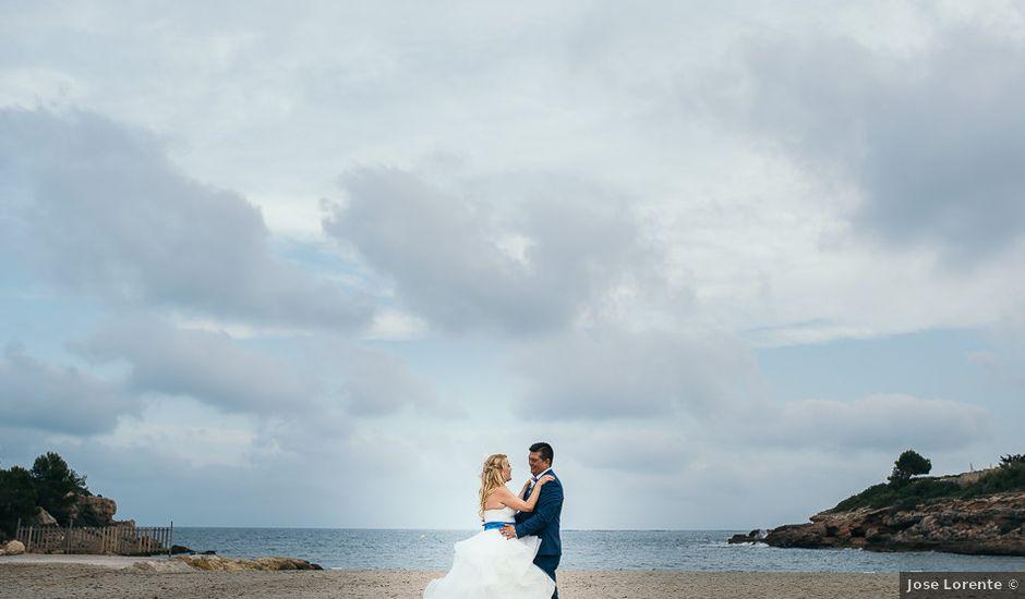 La boda de Roberto y Carol en L' Ametlla De Mar, Tarragona
