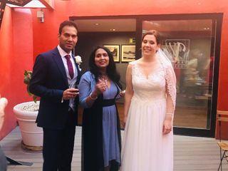 La boda de Beatriz  y Mahesh  1