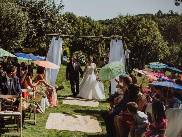 La boda de Xabi y Tania en Prado (Lalin), Pontevedra 43