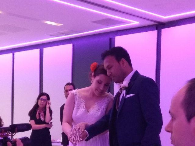 La boda de Mahesh  y Beatriz  en Madrid, Madrid 5