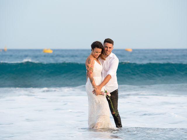 La boda de Carlos y Jenifer en Adeje, Santa Cruz de Tenerife 9
