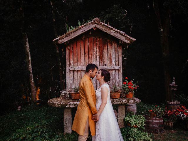 La boda de Olga y Vikram