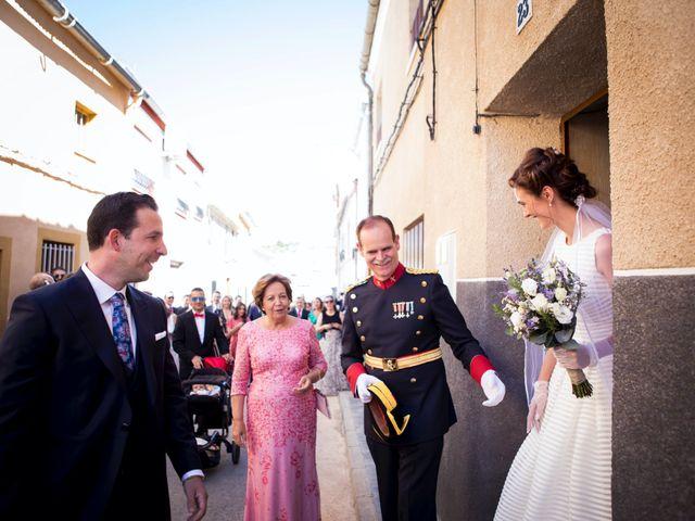 La boda de Carmen y José en Belmonte, Cuenca 32