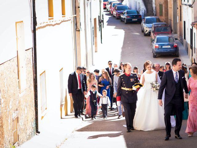 La boda de Carmen y José en Belmonte, Cuenca 34