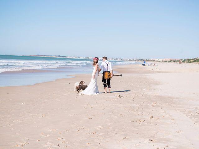 La boda de Ángel y Ana en Chiclana De La Frontera, Cádiz 63