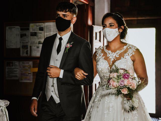 La boda de Marco y Dévora en Tacoronte, Santa Cruz de Tenerife 14