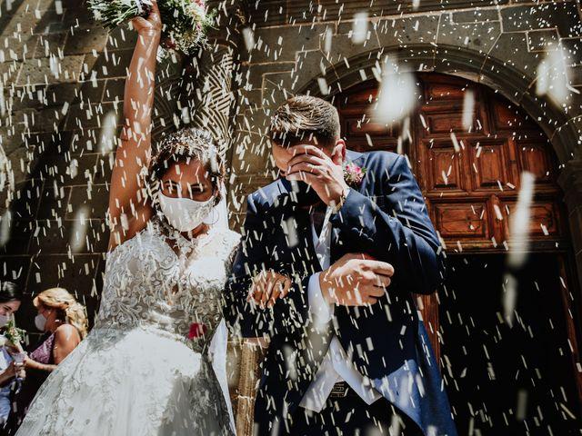 La boda de Marco y Dévora en Tacoronte, Santa Cruz de Tenerife 18